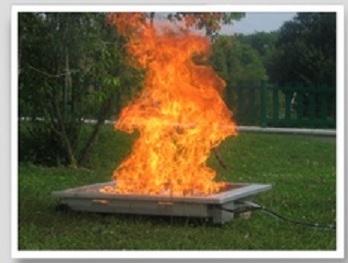 Formation sécurité incendie CNFCE - générateur de flammes
