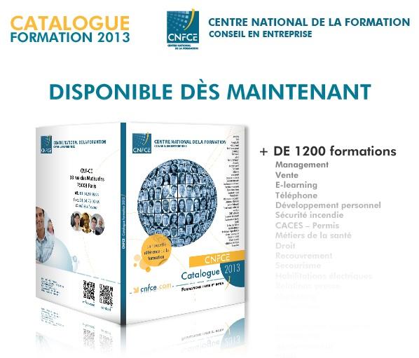 CNFCE : Catalogue Formation 2013