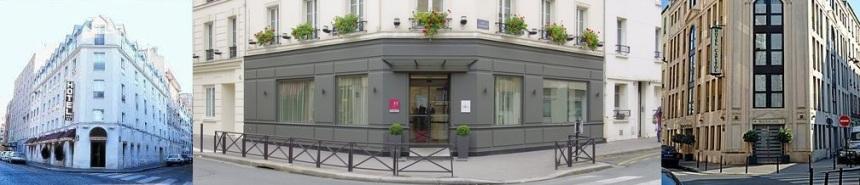 hotels cnfce Paris rue Viala