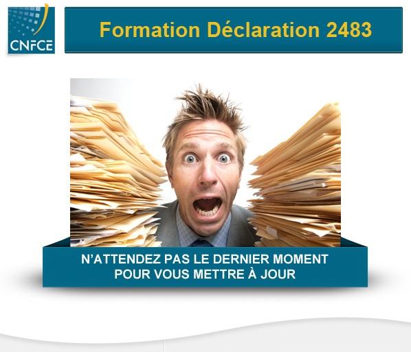 Formation déclaration 2483